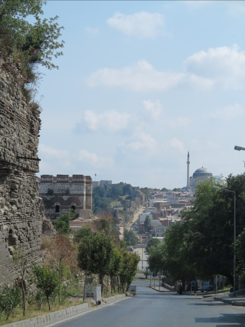 the Theodosian walls